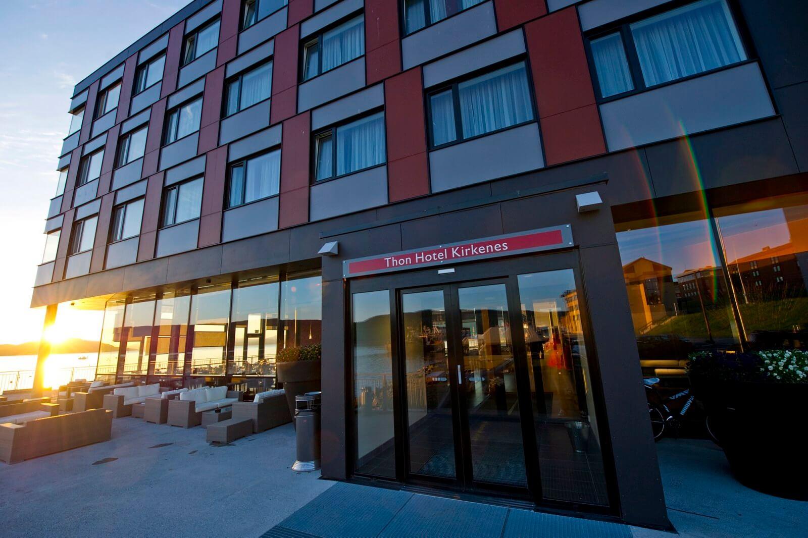Thon Hotel Kirkenes exterieur