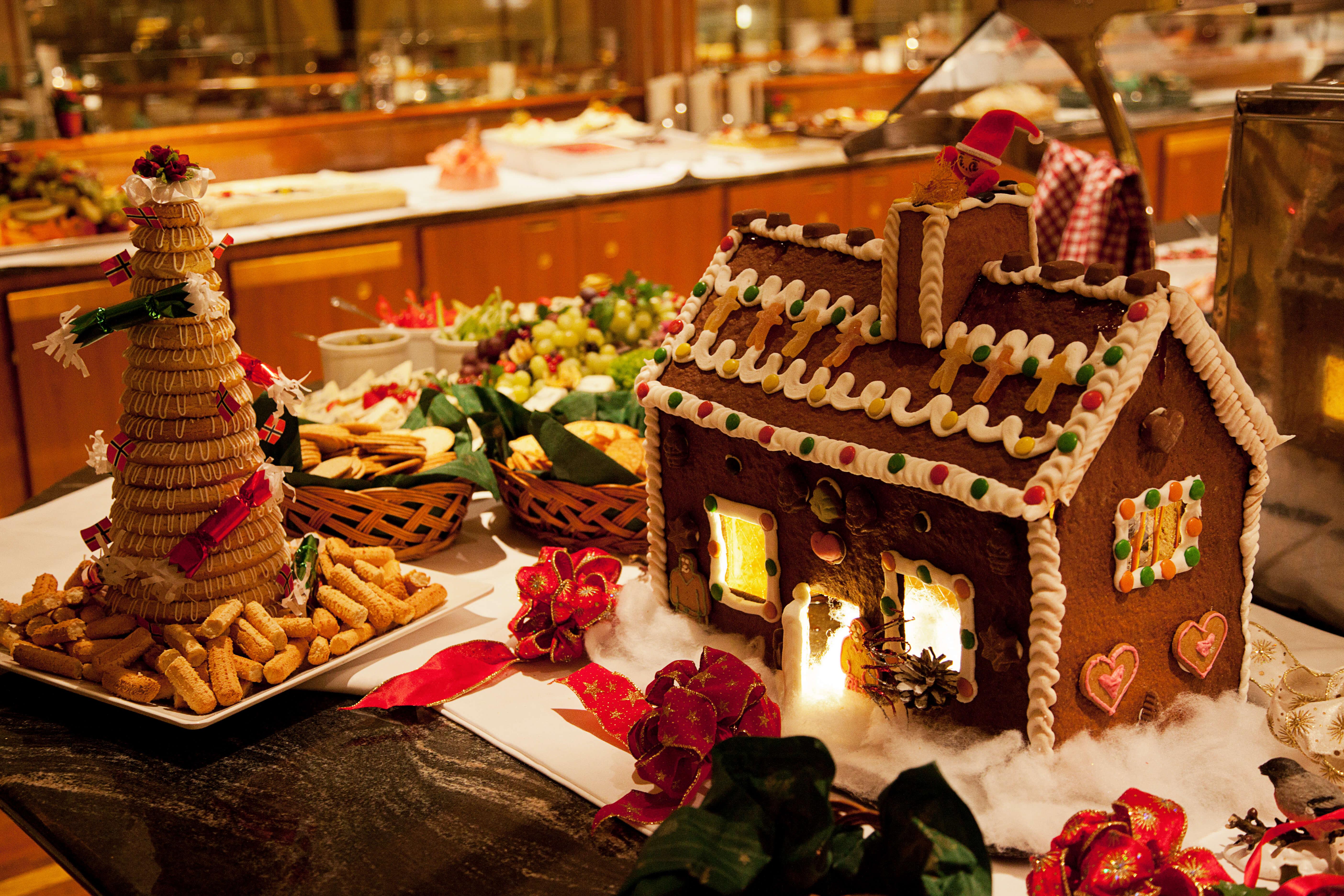 Witte Kerst Huis : Kerst beleven aan boord van hurtigruten langs de noorse kust norske