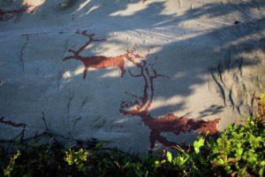 Rotstekeningen in het Alta Museum (Foto: CH - Visitnorway.com)