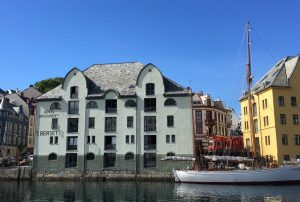 Hotel Brosundet Alesund exterieur