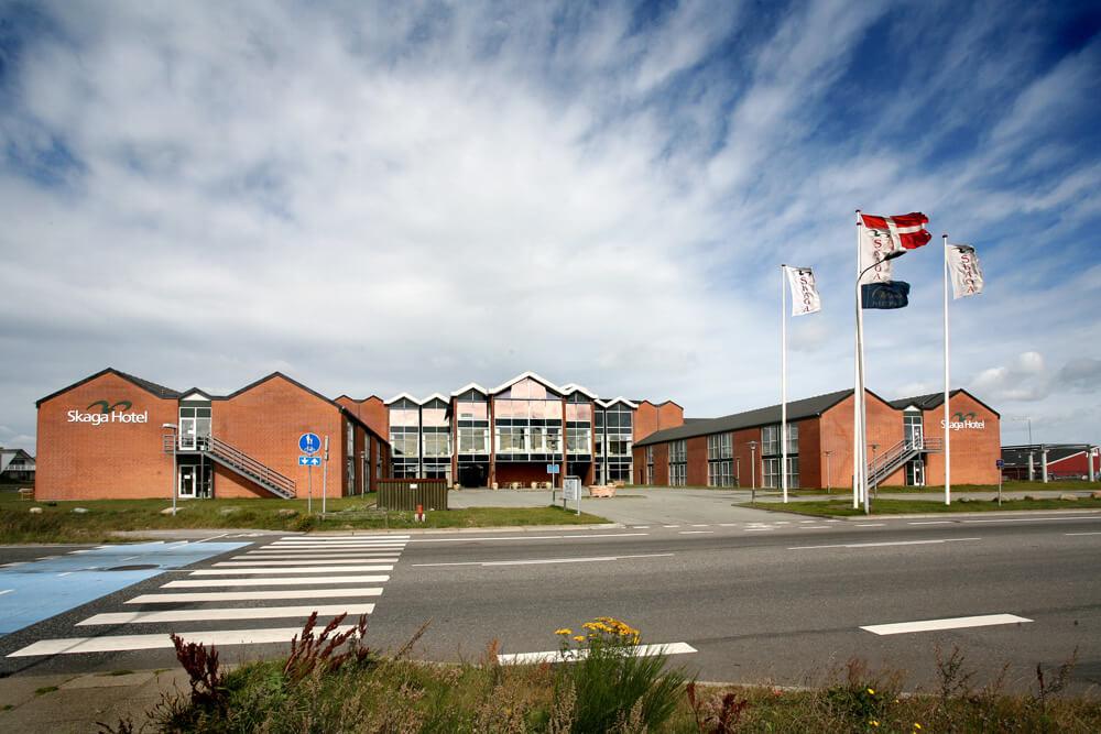 Skaga Montra Hotel Denemarken exterieur