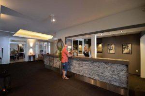 Grand Hotel Bellevue receptie
