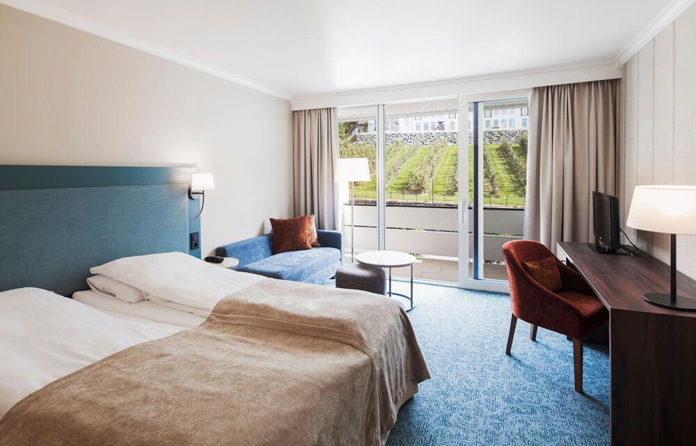 Ullensvang Hotel standaard kamer