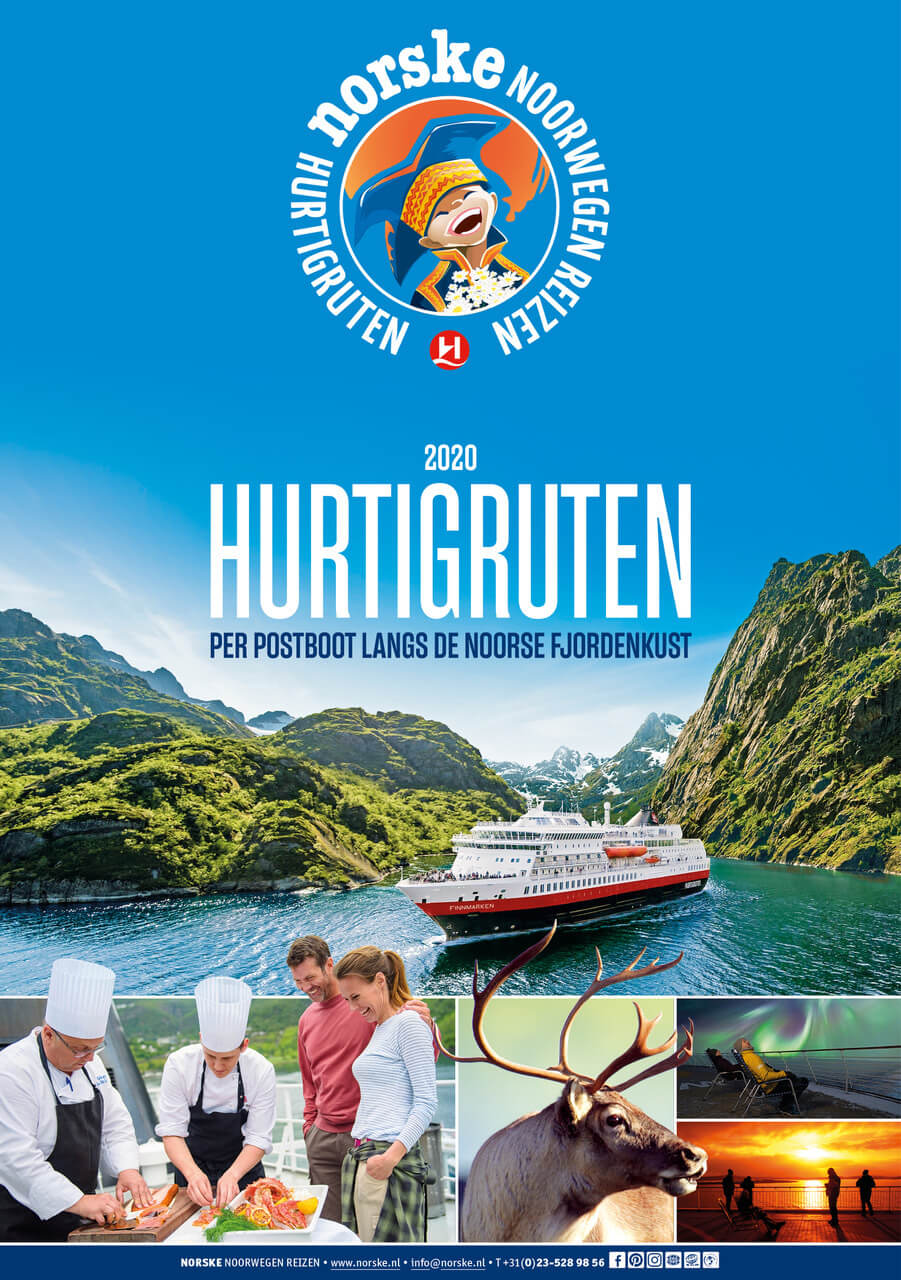 Folder: Hurtigruten Noorse kust 2020